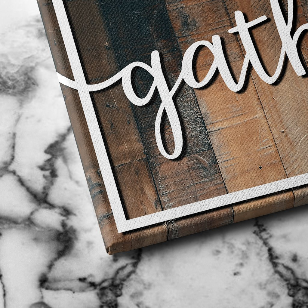 gather canvas art