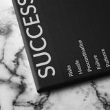 success canvas art
