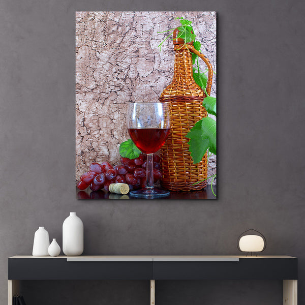 Wine and Vine wall art