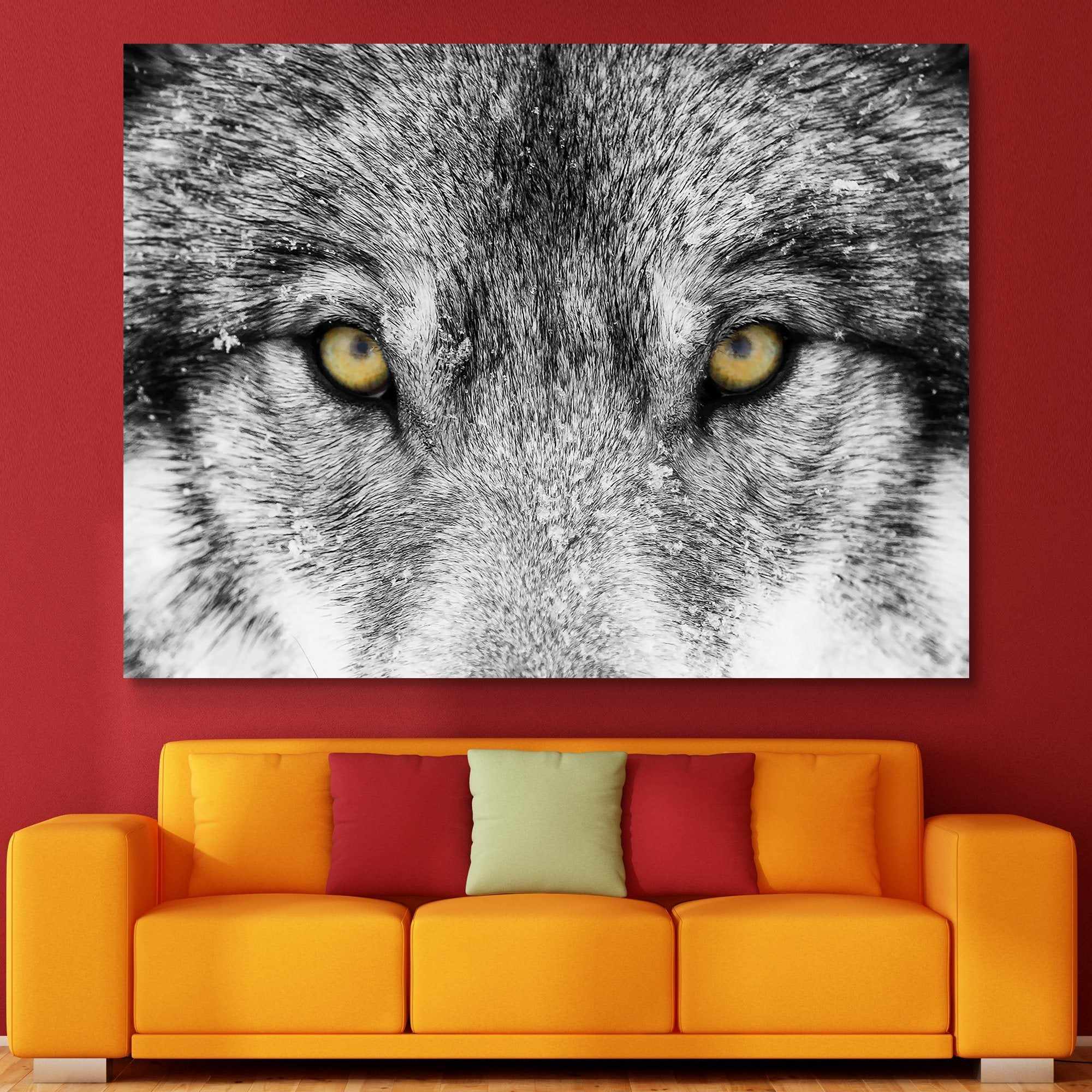 Timber Wolf wall art
