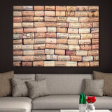 Antique Wine Corks wall art