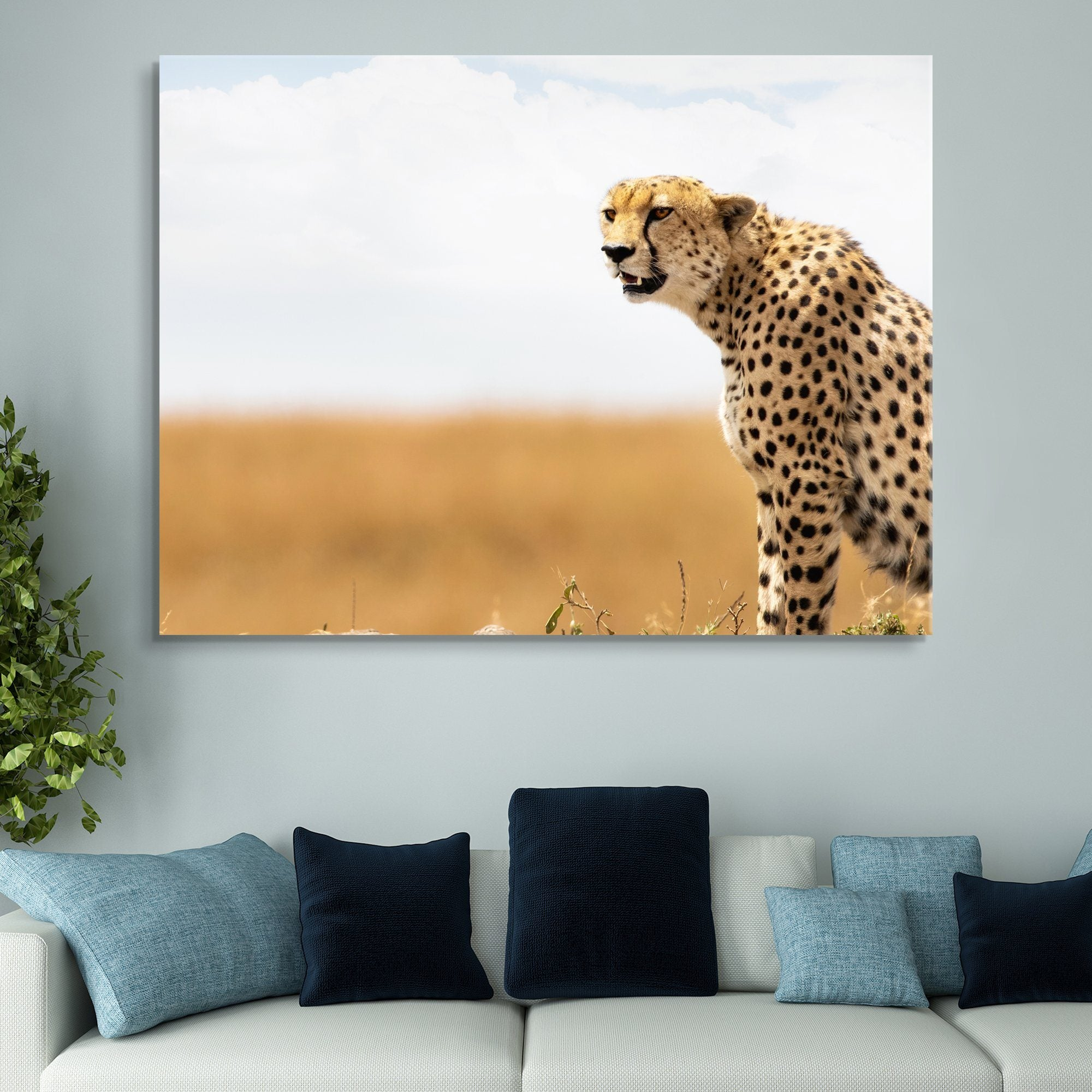Cheetah wall art