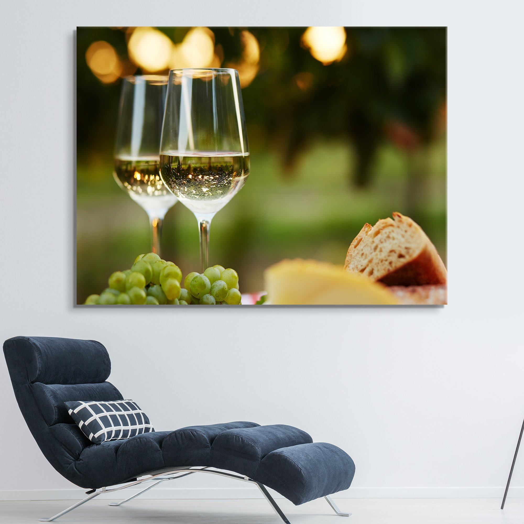 Wine at a Grazing Table wall art