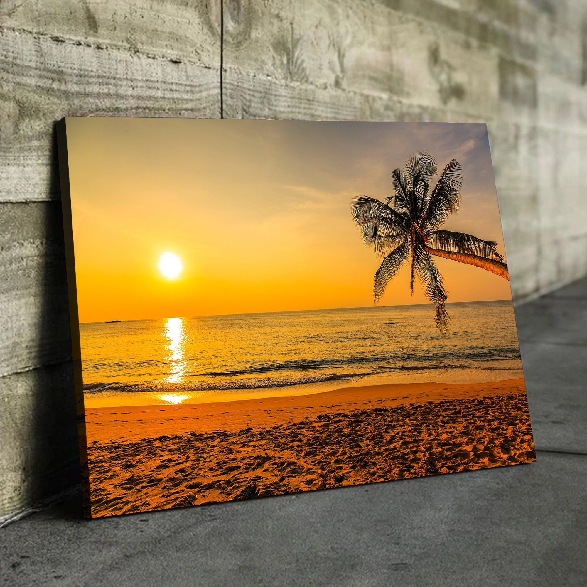 Sunset by the Beach home decor