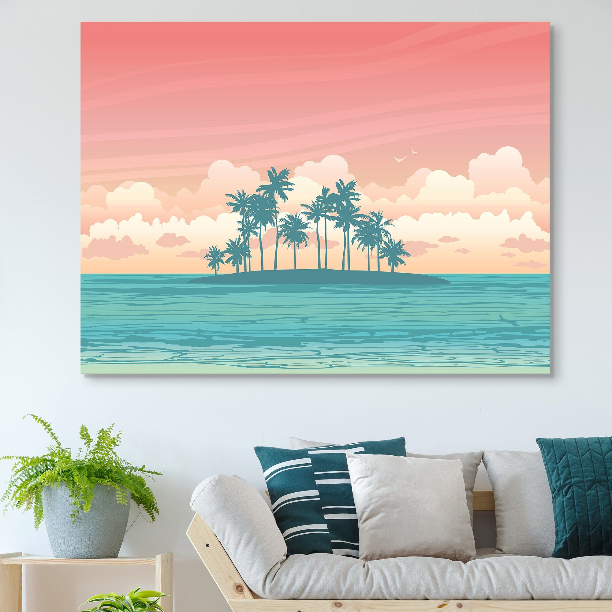 Tropical Island wall art