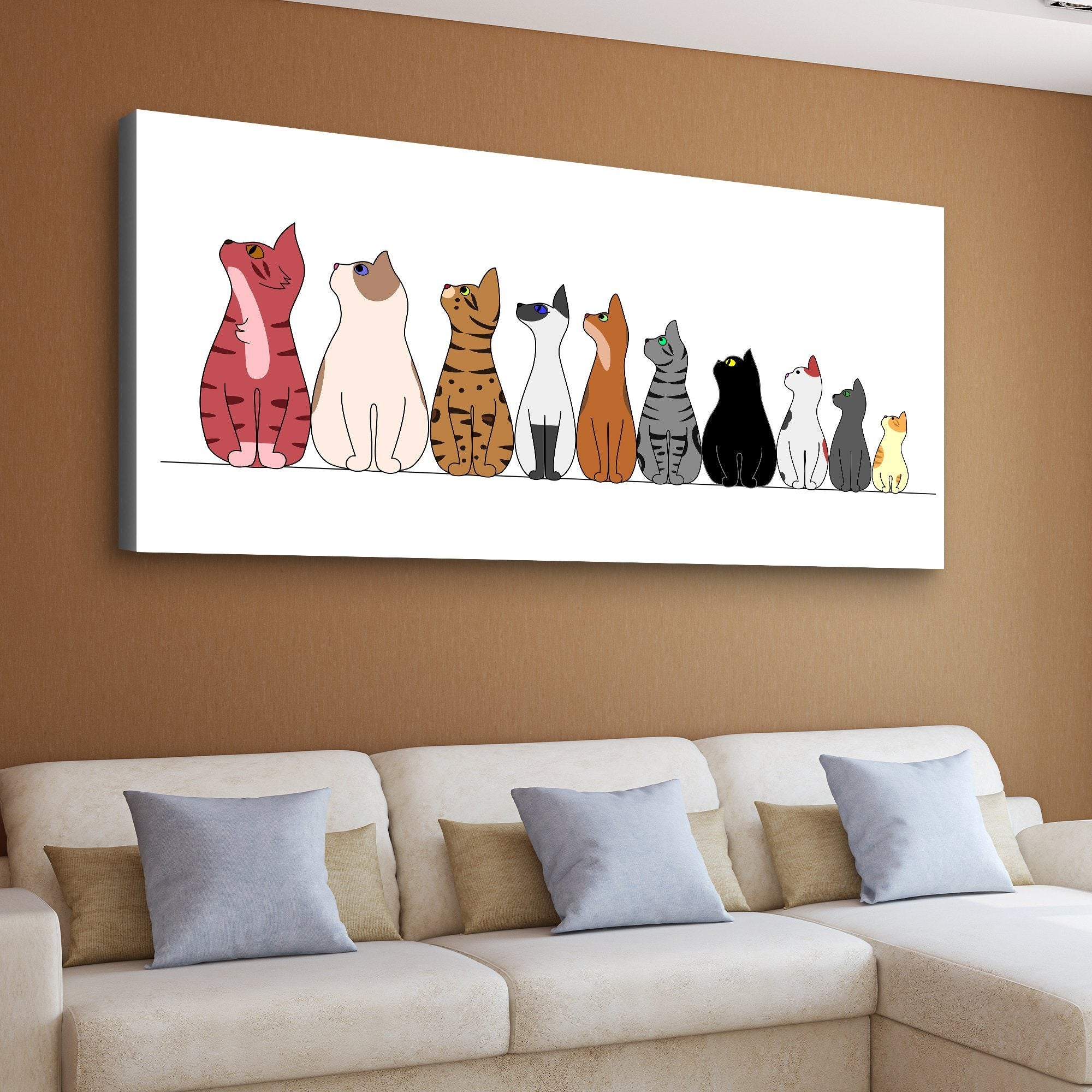 kittens wall art