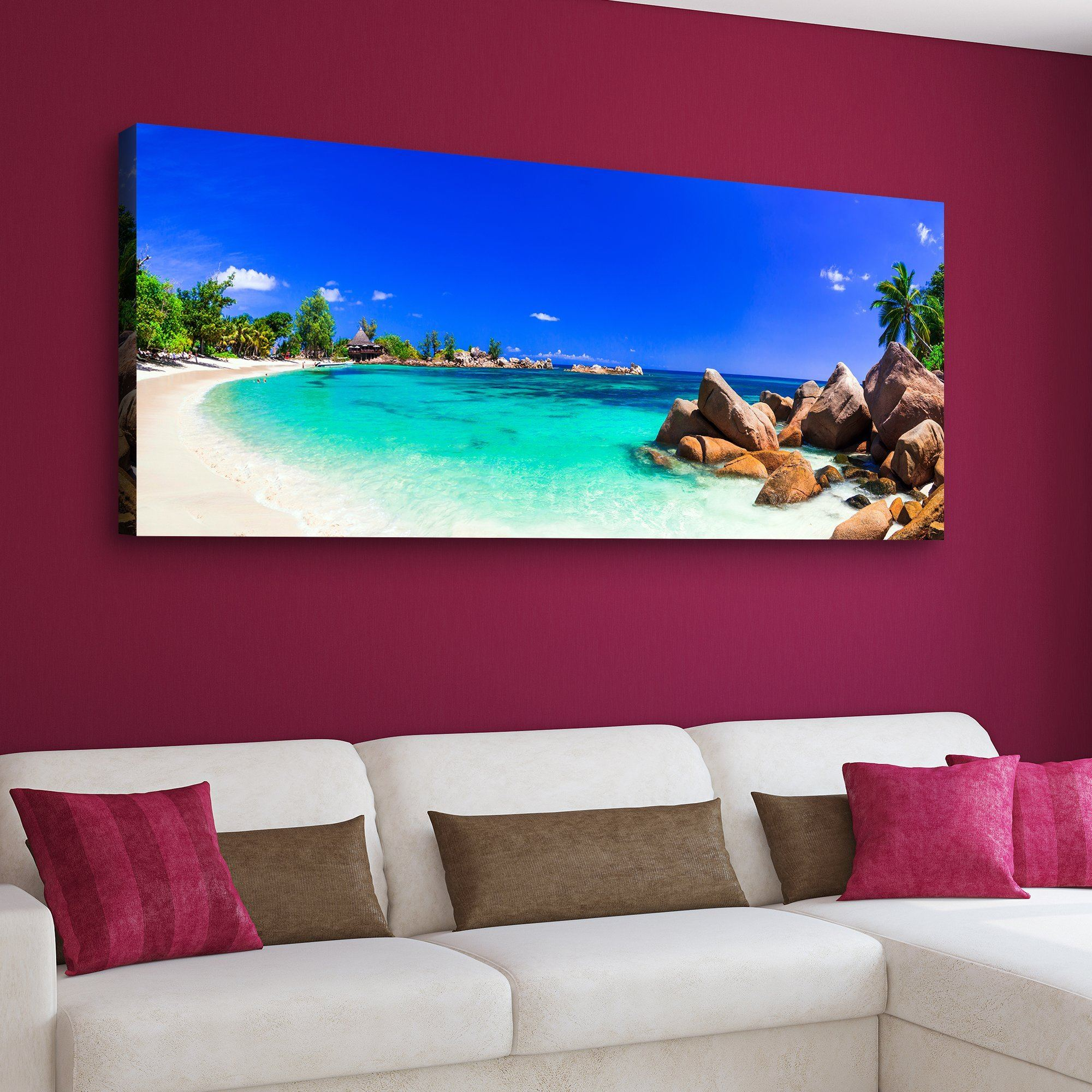 summer beach wall art