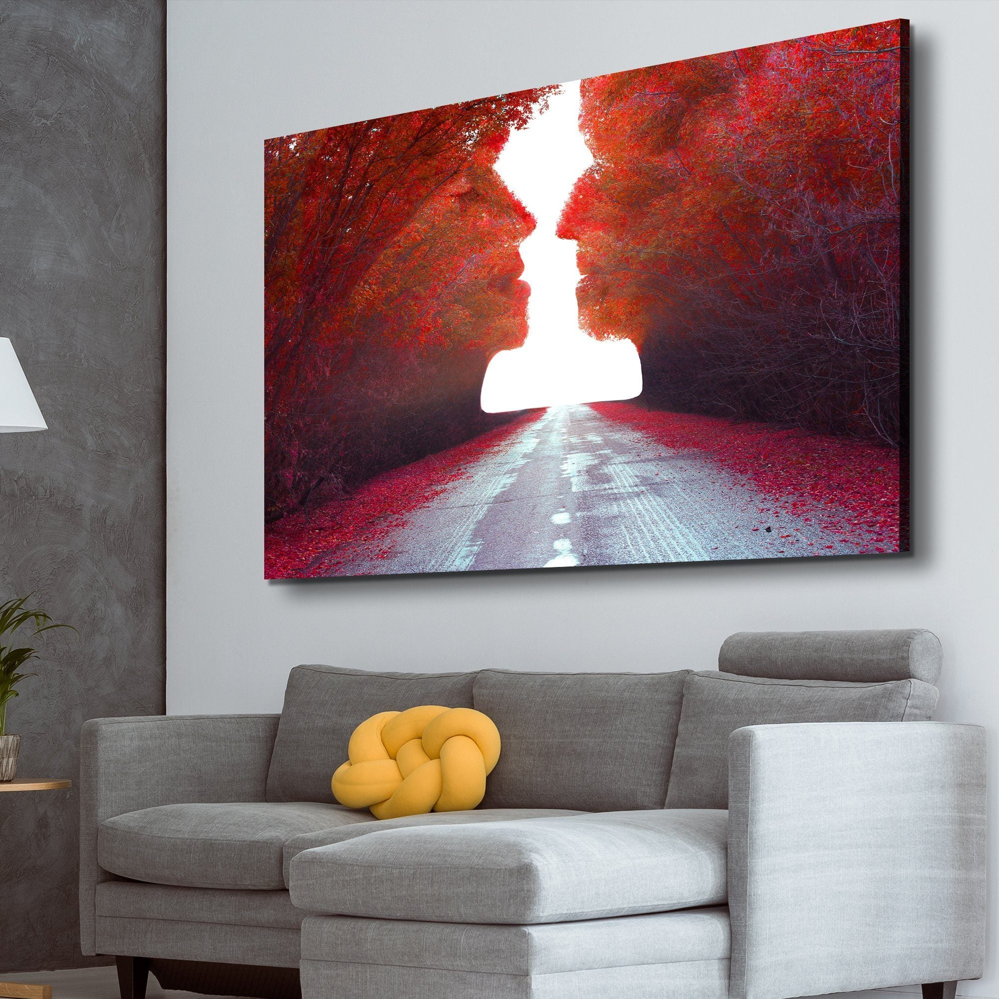 Road to Love living room wall art