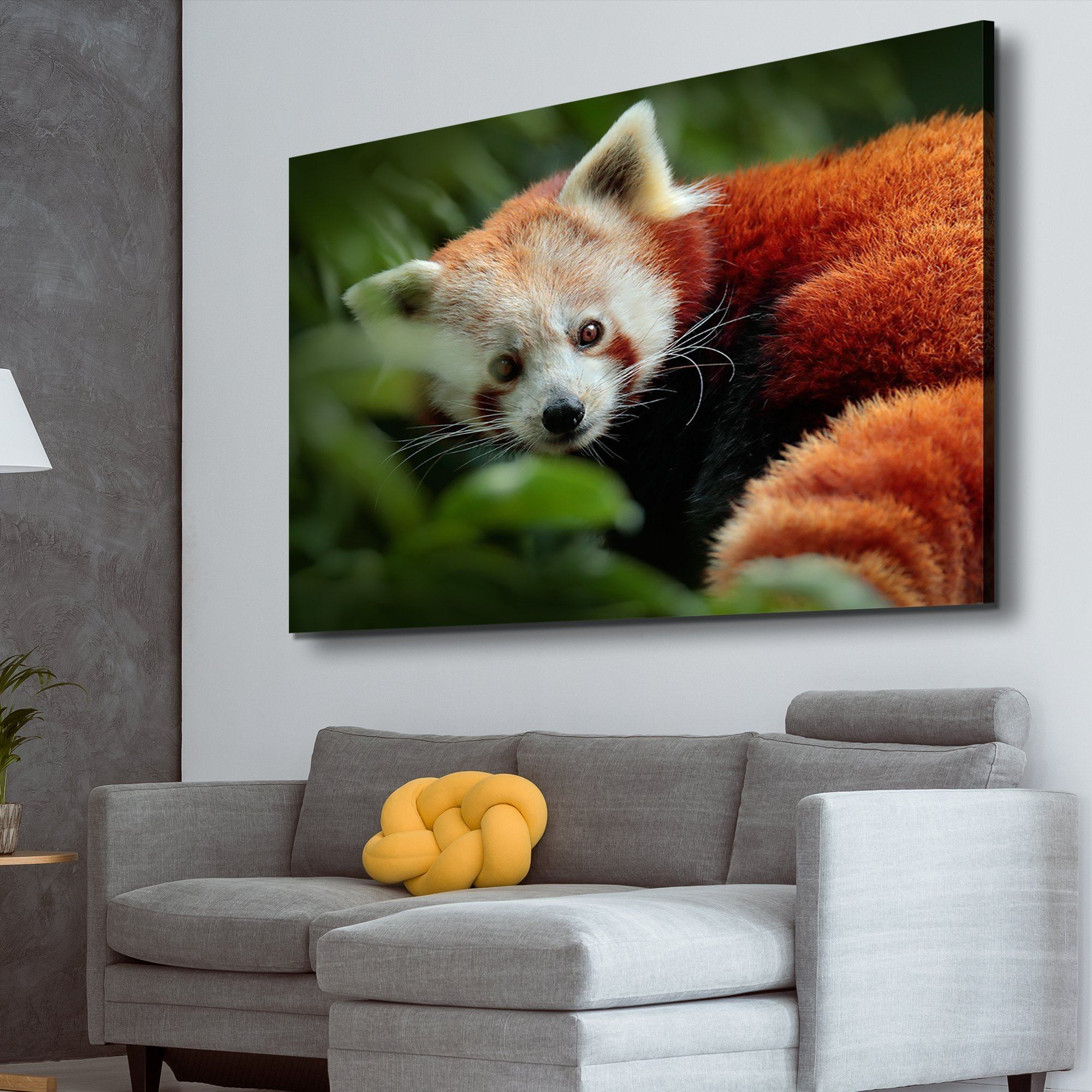 Panda from Nature wall art for the living room