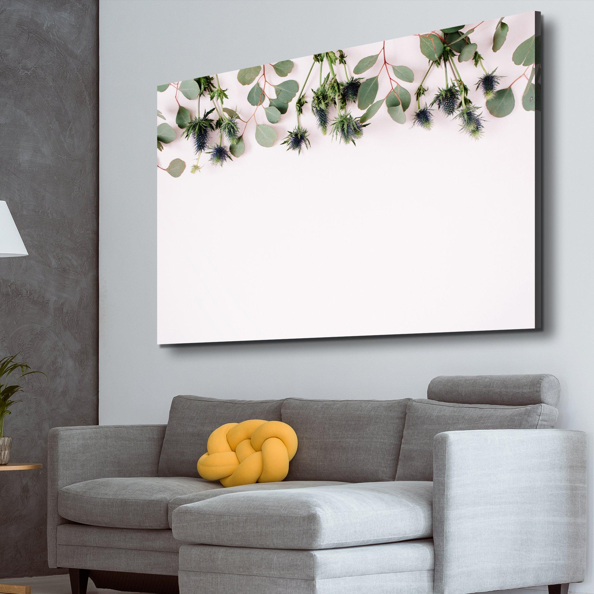 Eucalyptus living room wall art