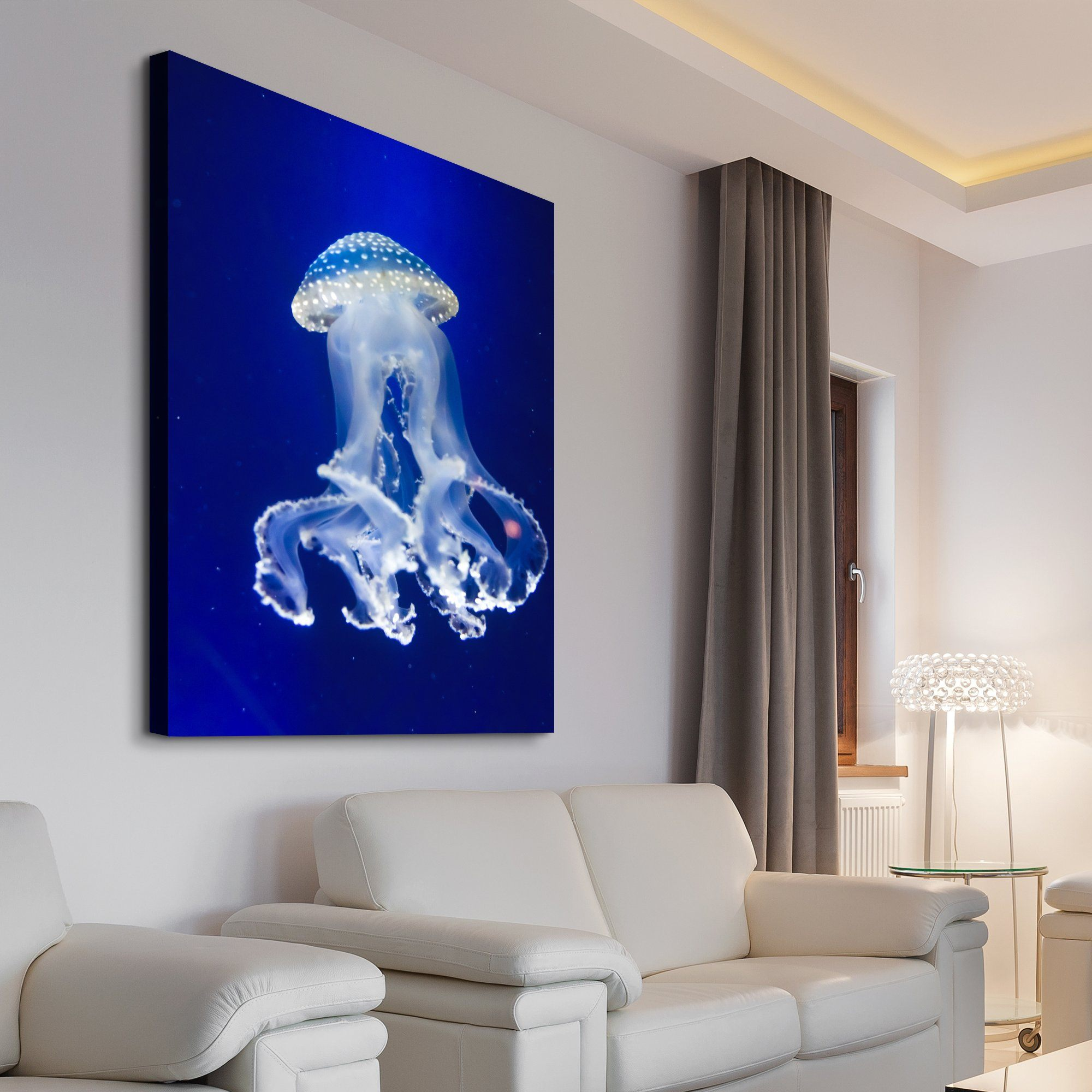 jellyfish canvas art