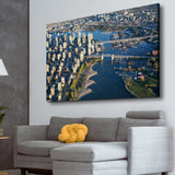 Canada Downtown View living room  wall art