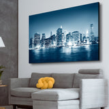 Night in New York wall art