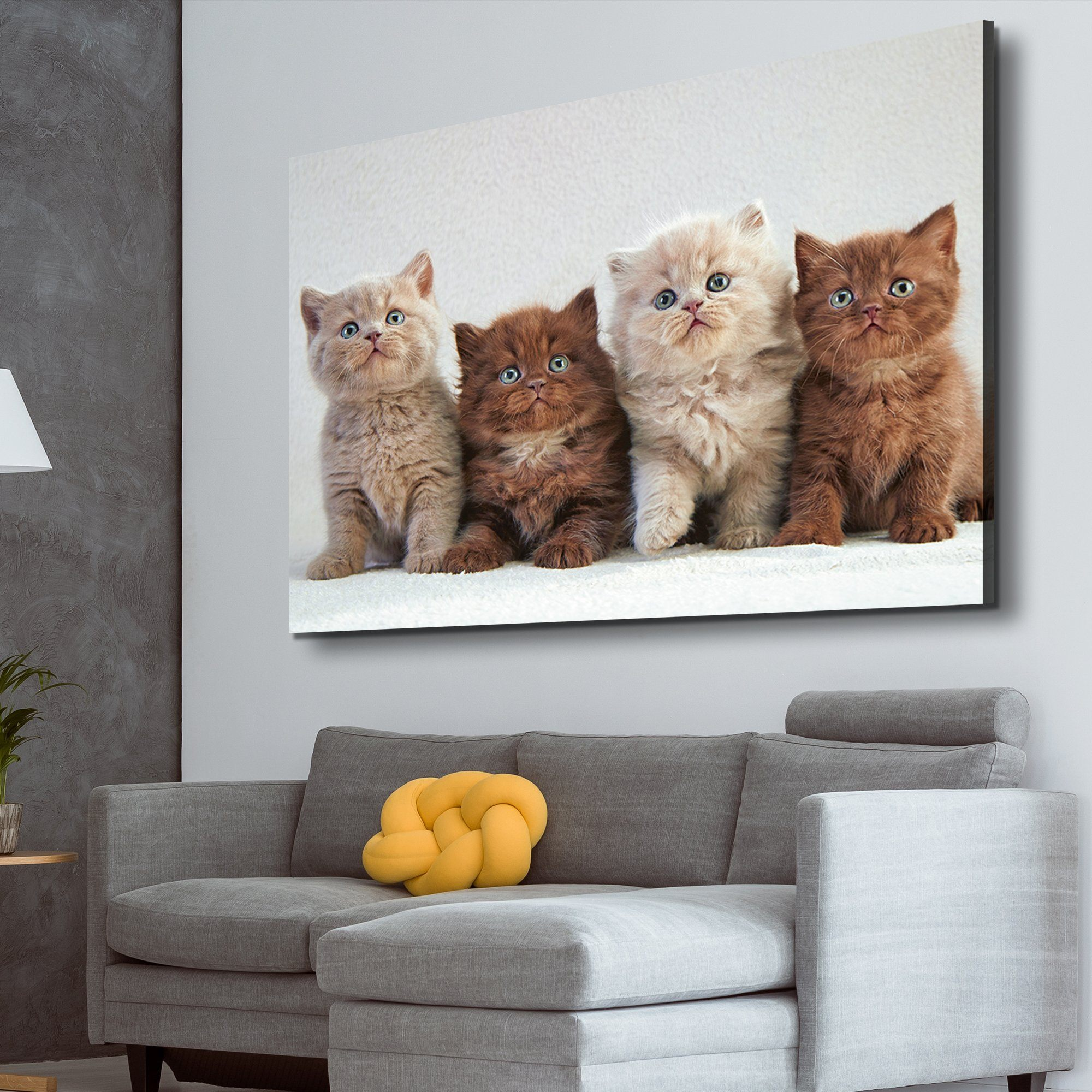 Four Kittens lover art
