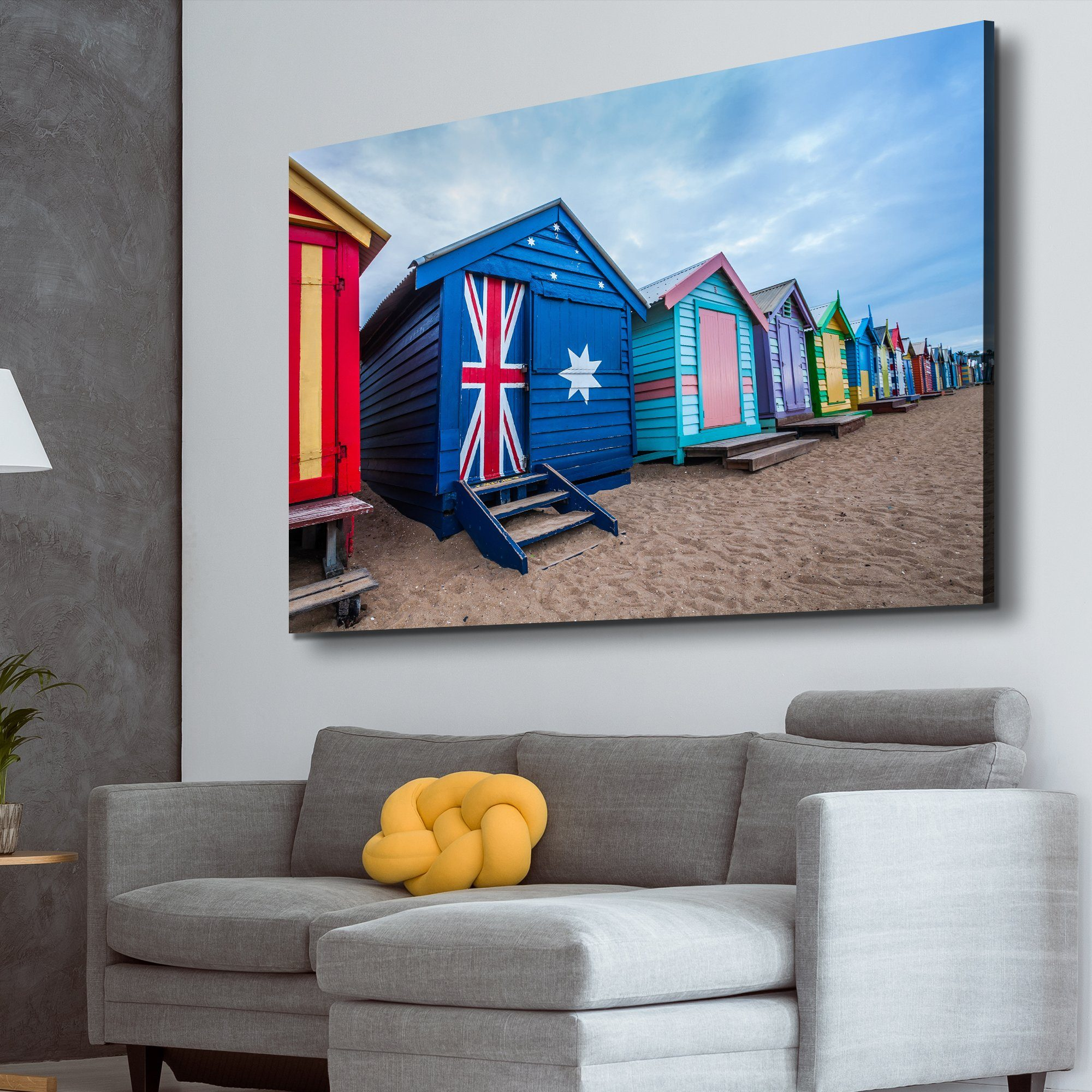 Australia Flag House art