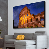 Colosseum living room wall art