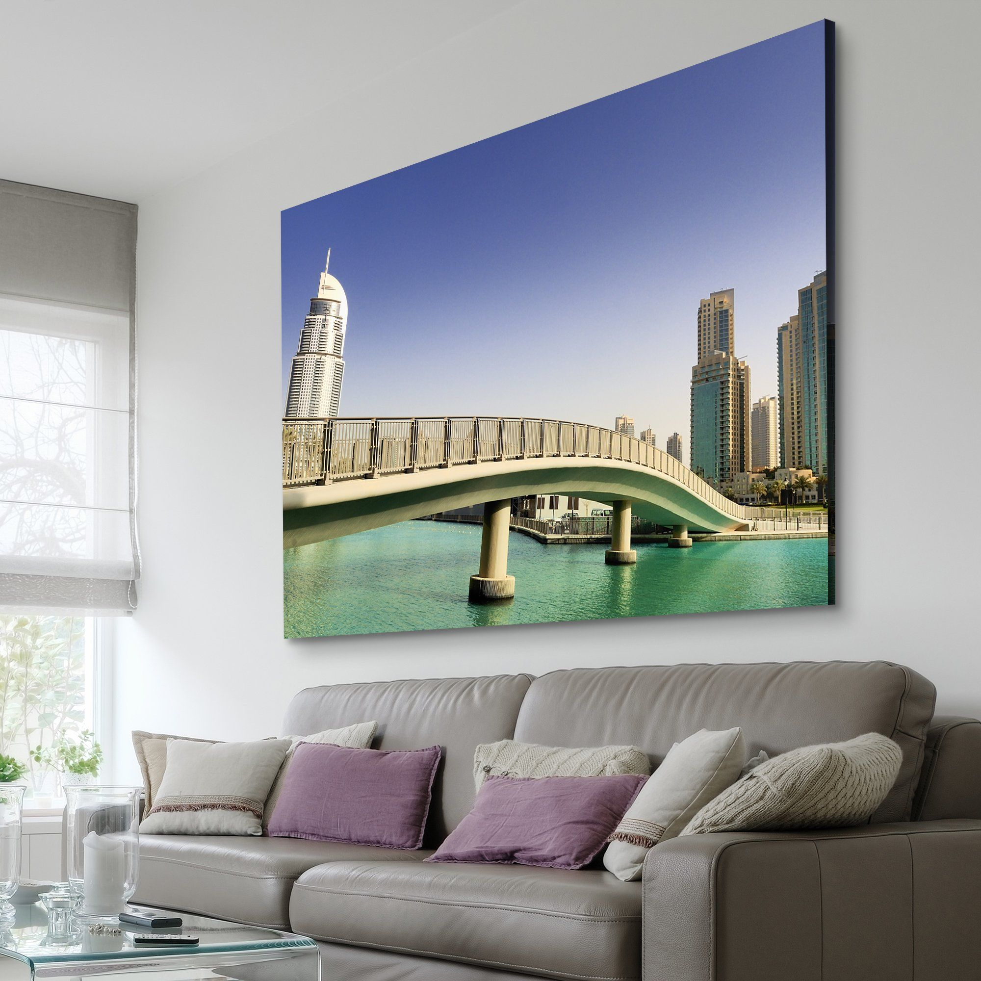 Footbridge In UAE art