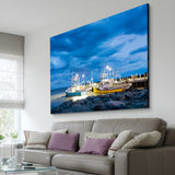 Fishing Boats art