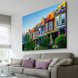 Colorful Houses art