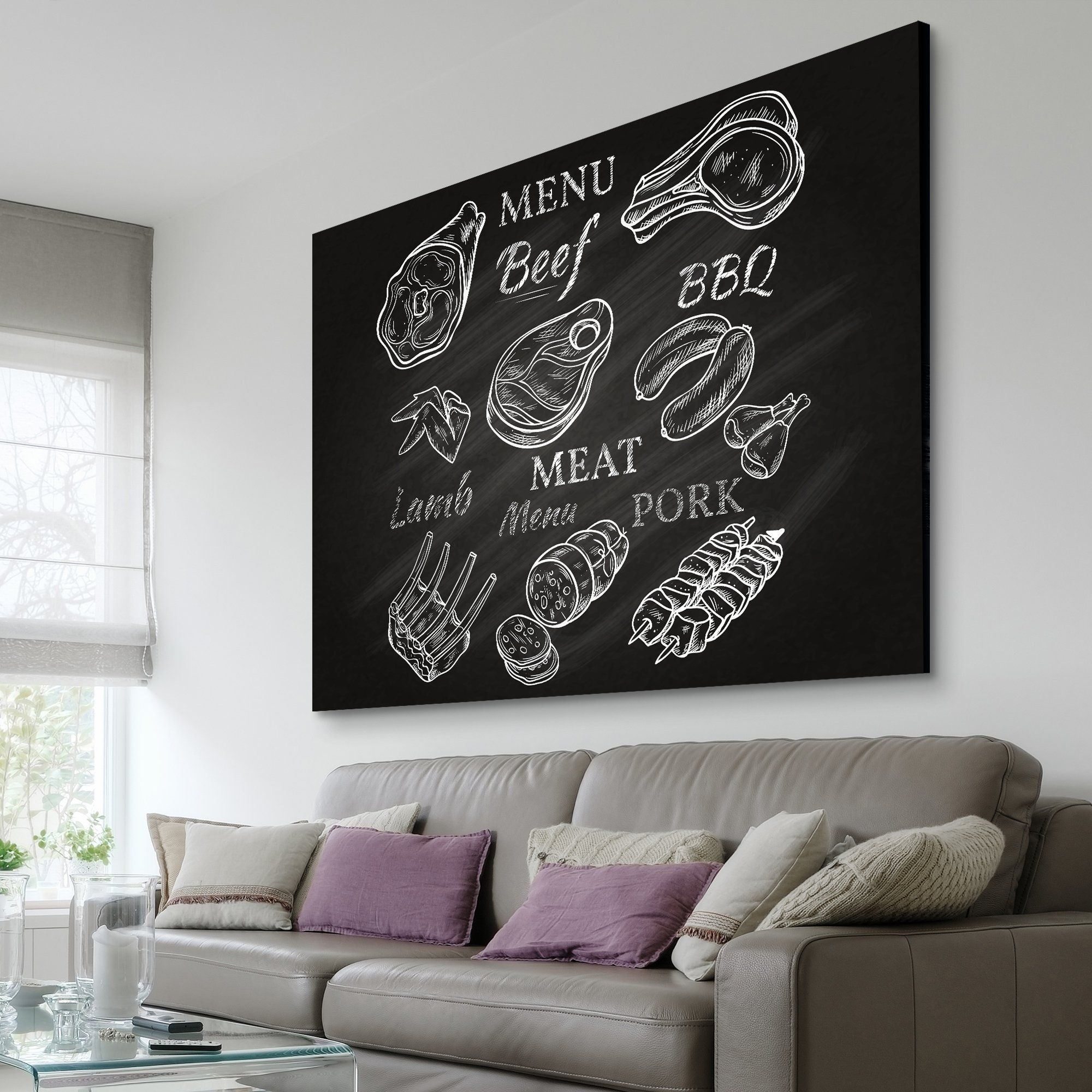Kitchen Menu wall art