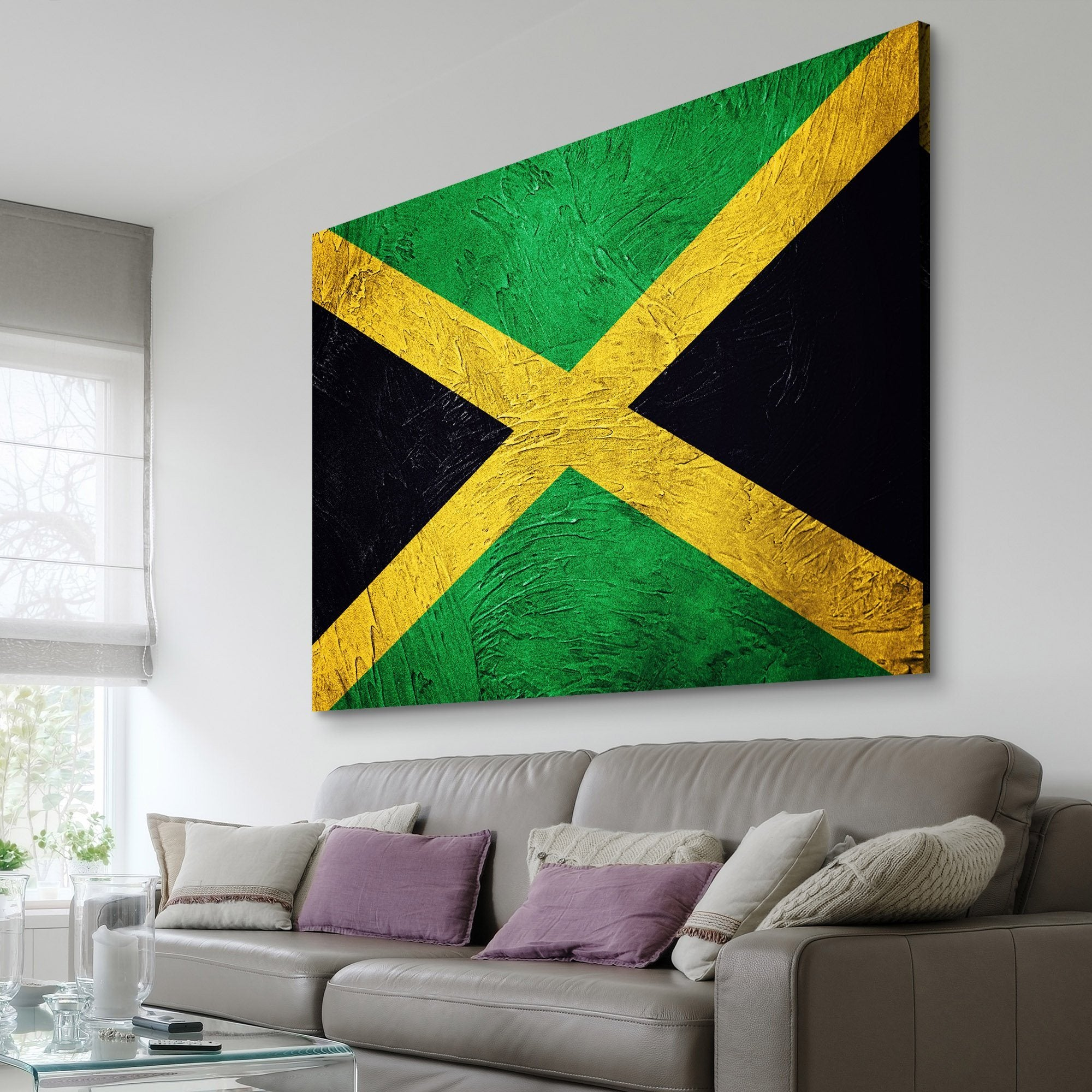 Jamaican Flag painting art