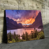 St Mary Lake living room wall art