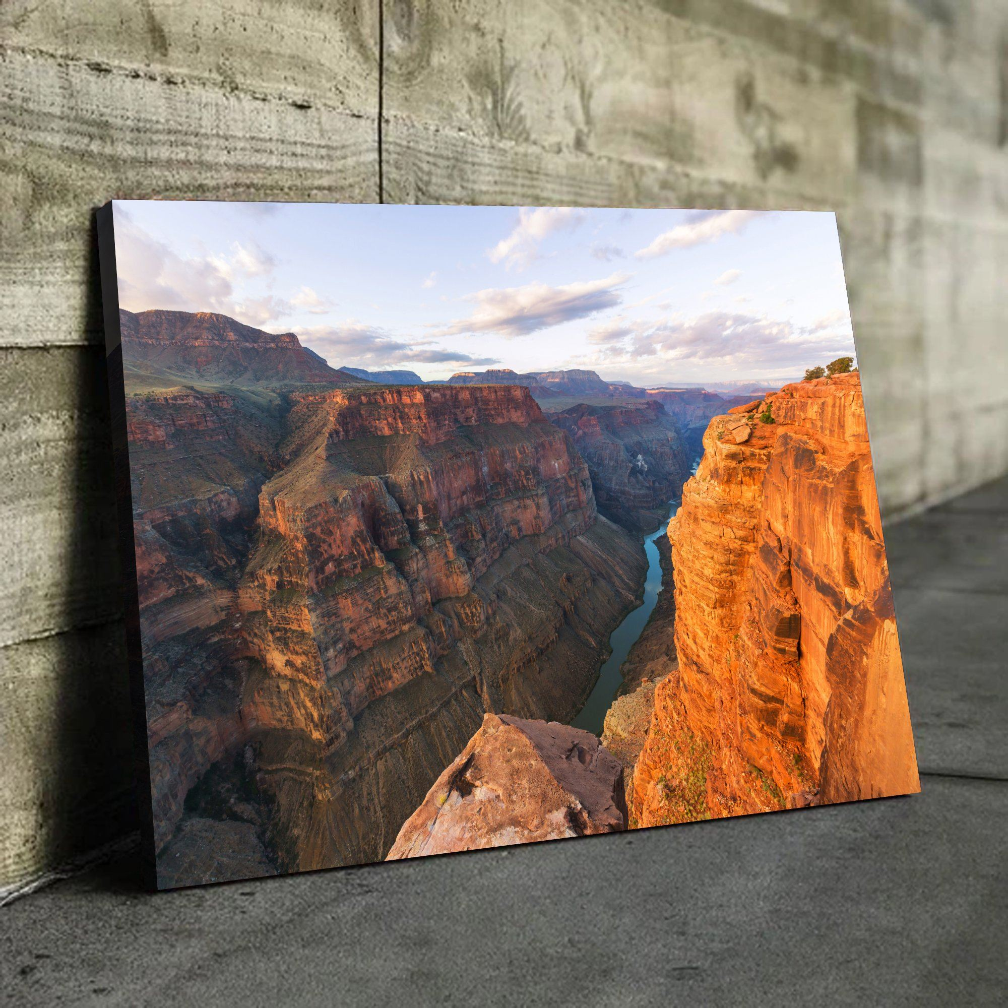 Grand Canyon National Park living room wall art