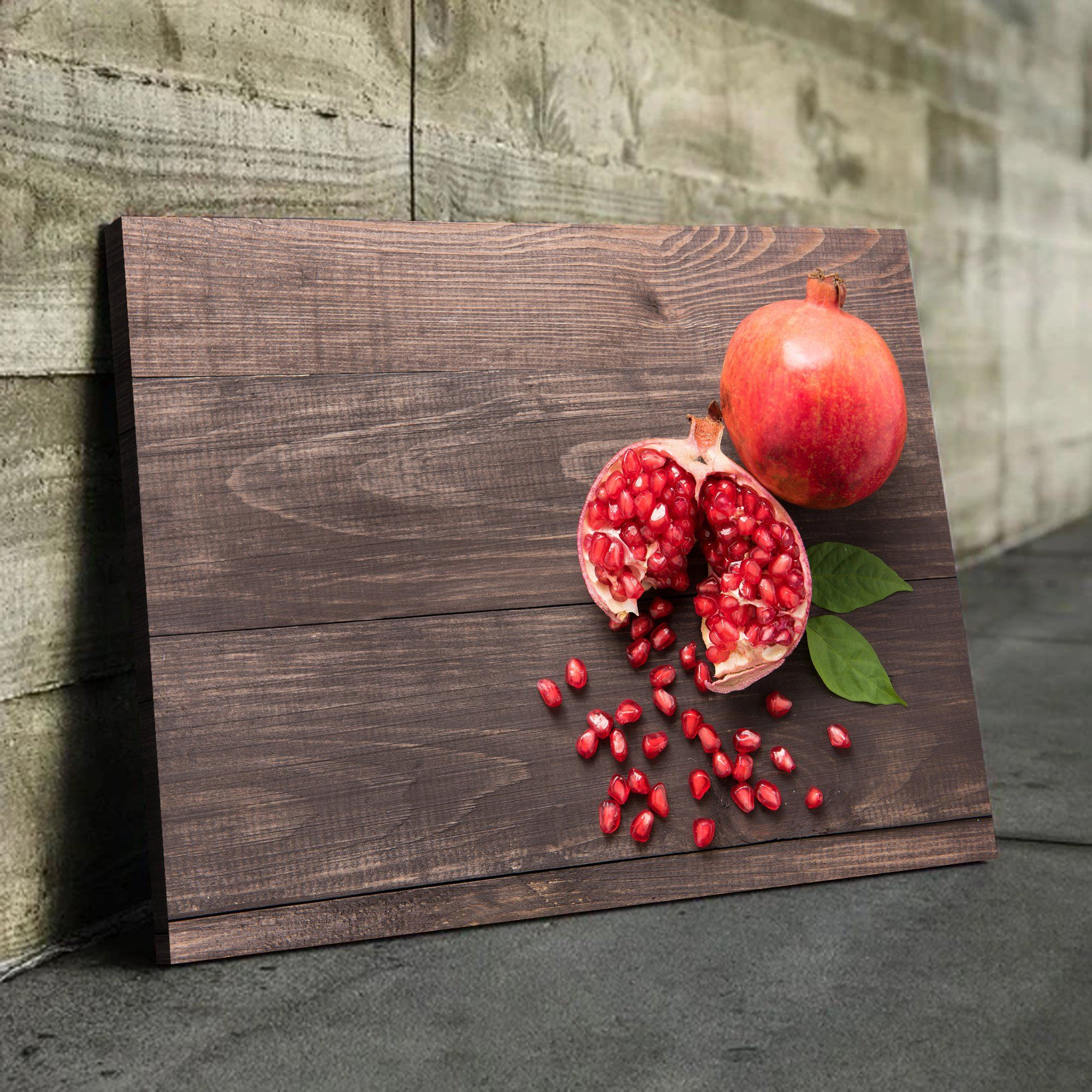 kitchen fruit wall art