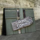 fisherman wall art