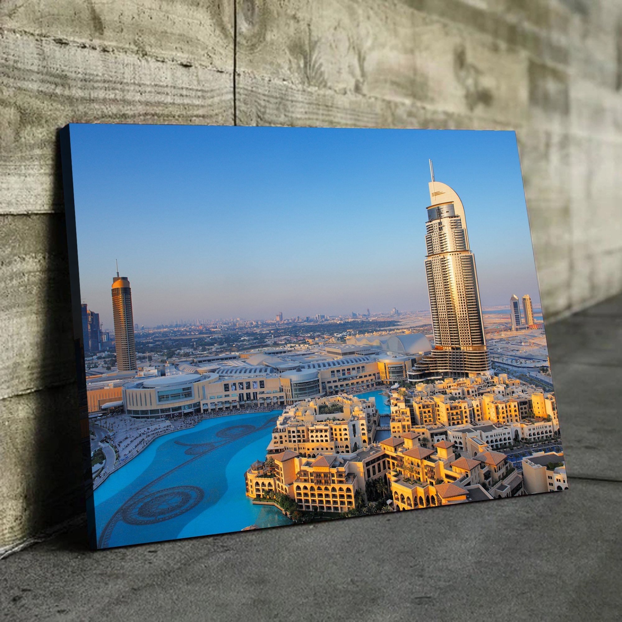Downtown Dubai wall art for living room