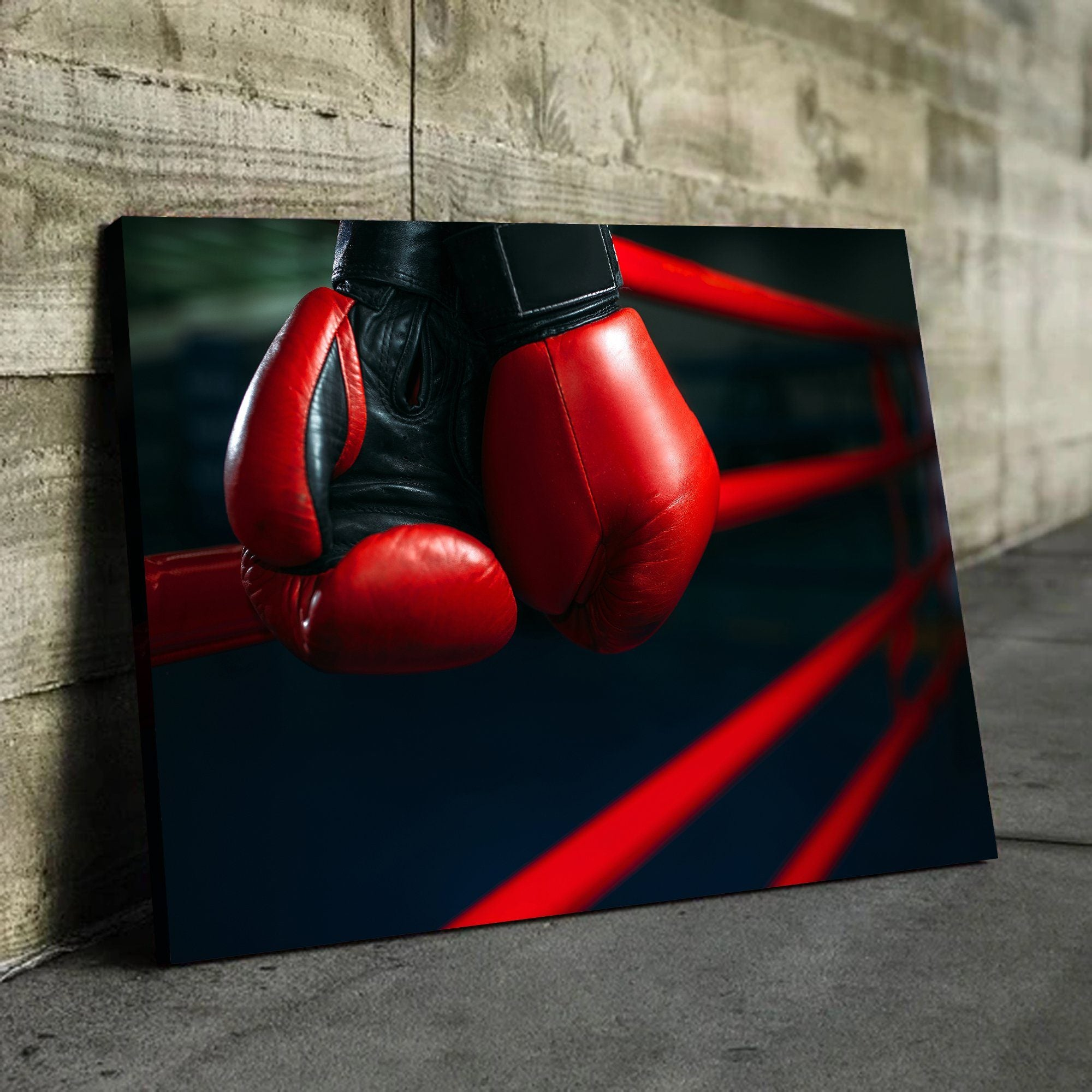 Boxing Gloves sports wall art
