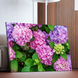 Hydrangea Flowers living room wall art