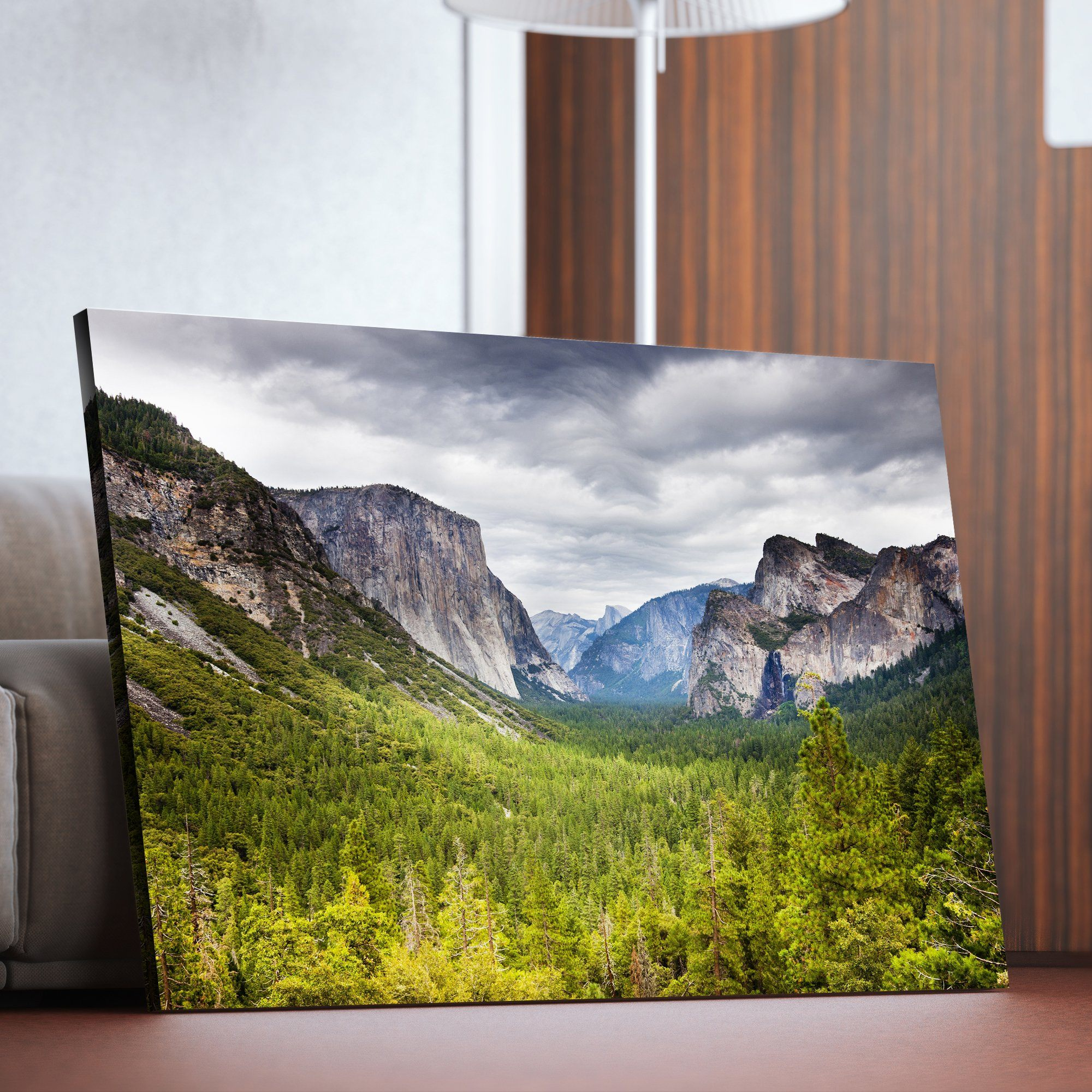 Yosemite National park  living room wall art