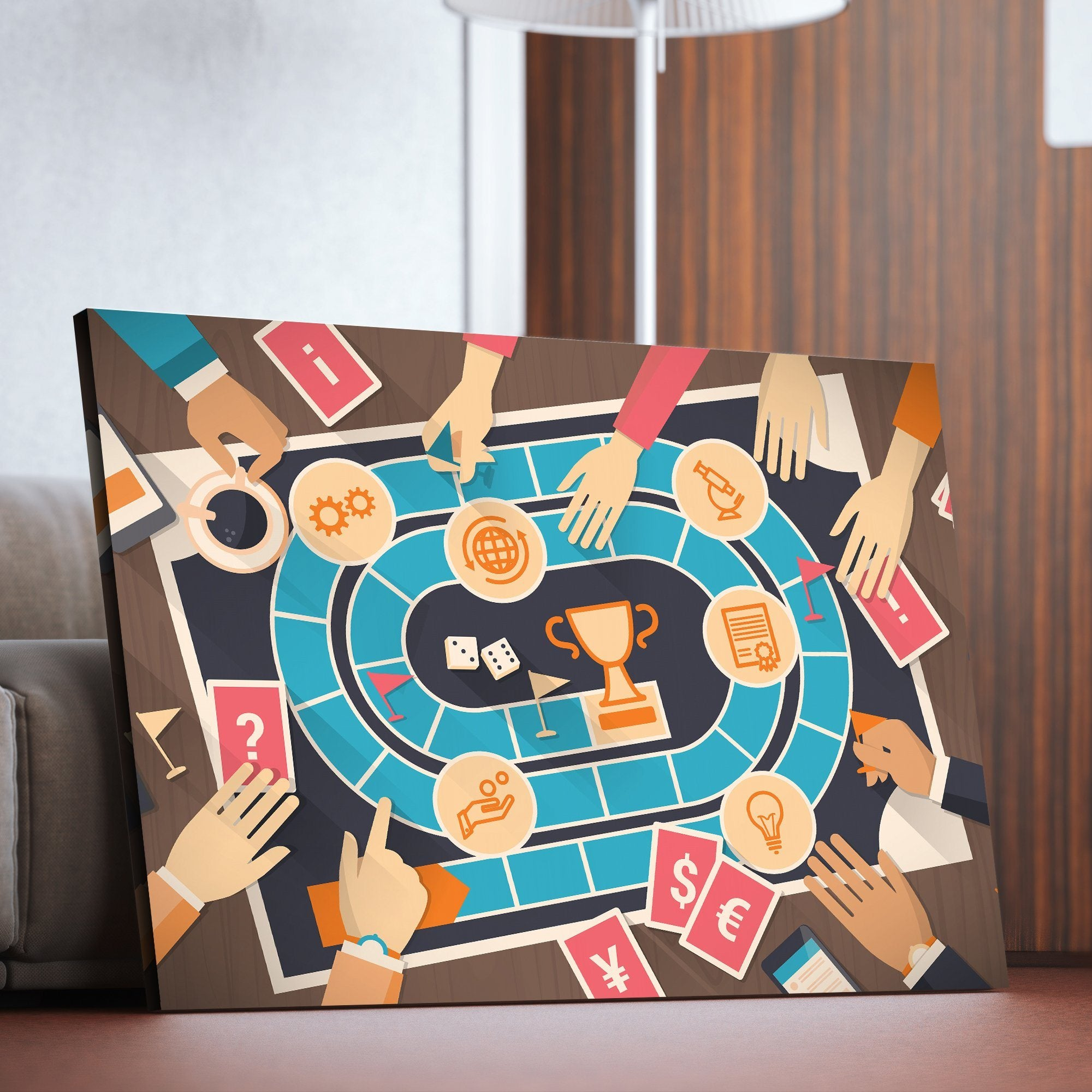 Board Games art