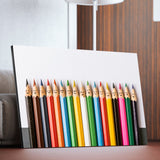 Happy Pencils wall art for kids