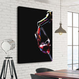 red wine wall art decoration