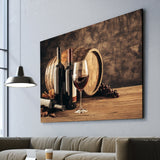 Elements of Wine wall art