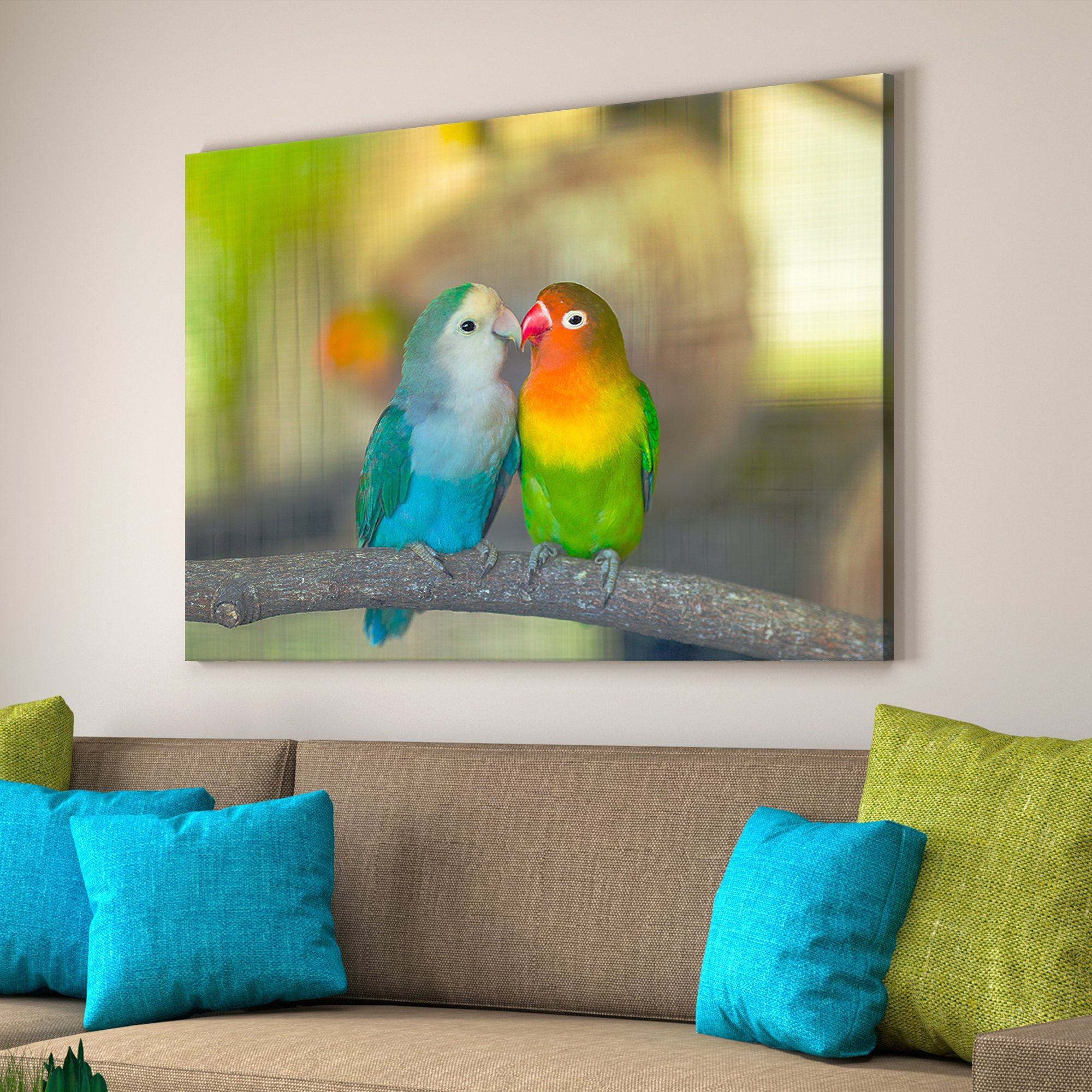 Love Birds home decor art
