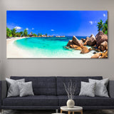 Tropical Paradise Beach wall art