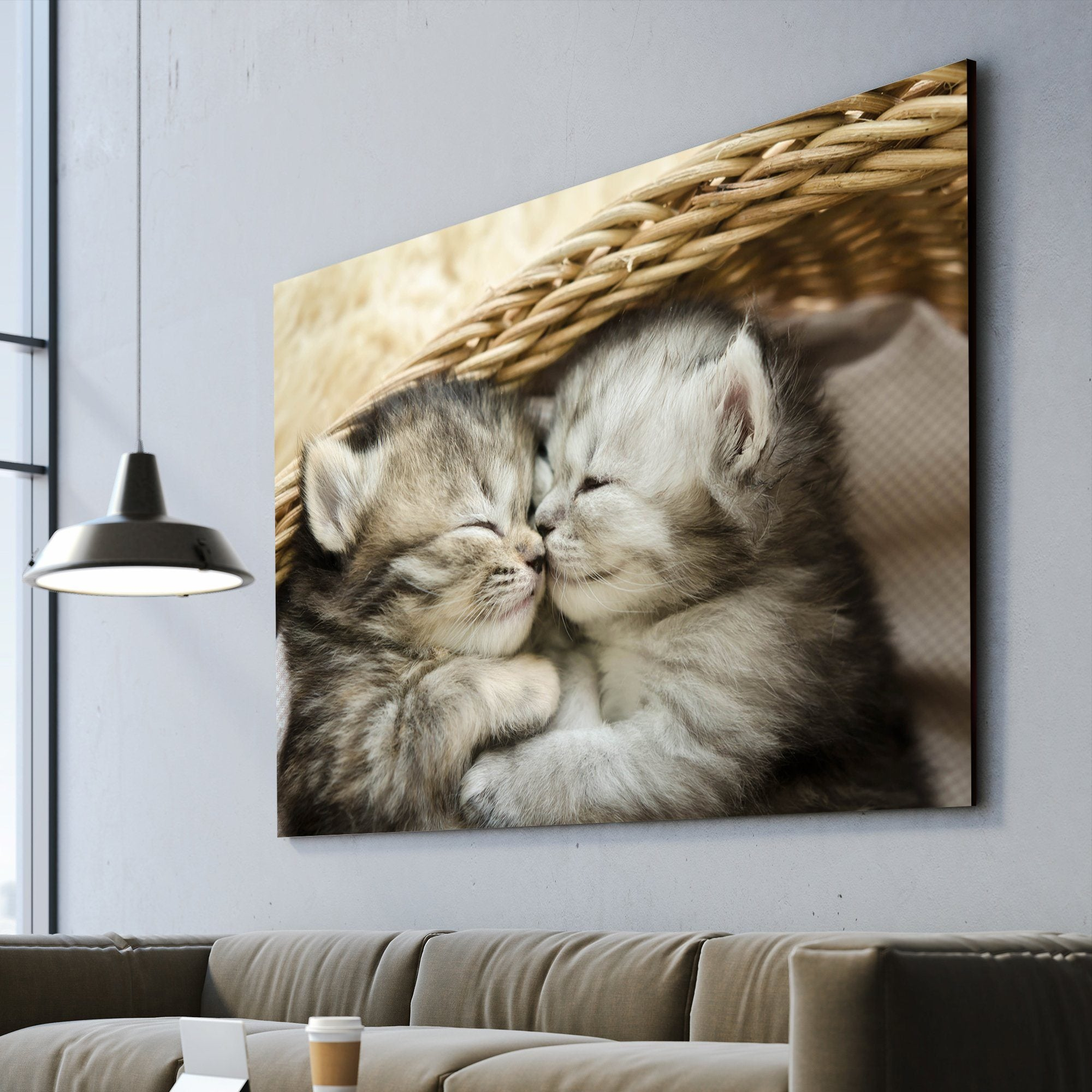 Kitten art home decor