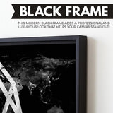 EOS Black Marble Series wall art black frame