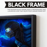 Sub-Zero wall art black frame