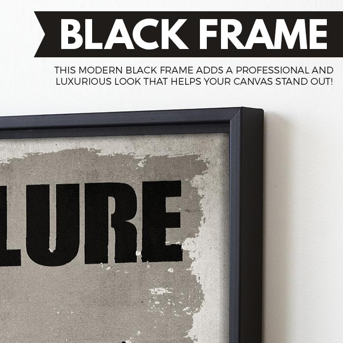 Failure wall art black frame