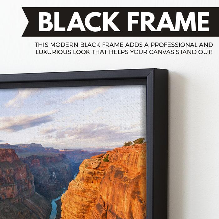 Grand Canyon National Park canvas wall art floating frame