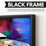 Big Yachty wall art black frame