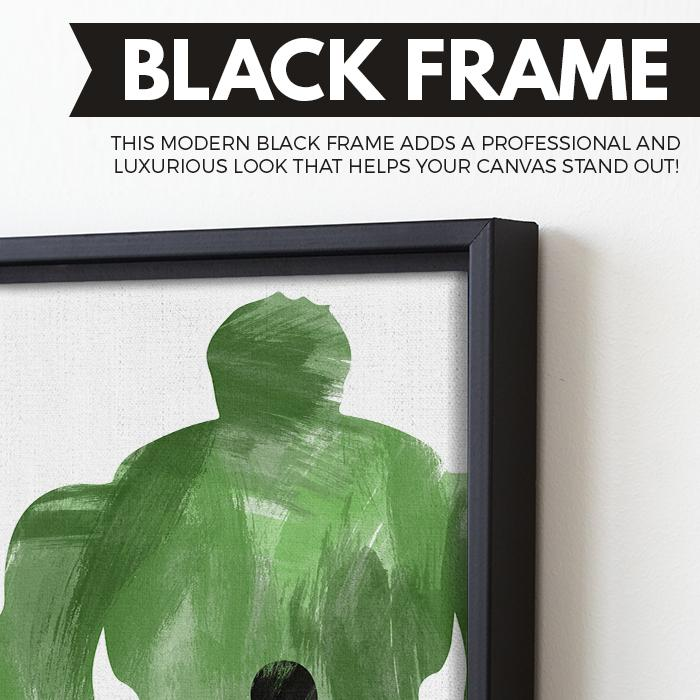 Doc Green | The Incredible Hulk wall art black frame