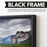 Yosemite National park  wall art black frame