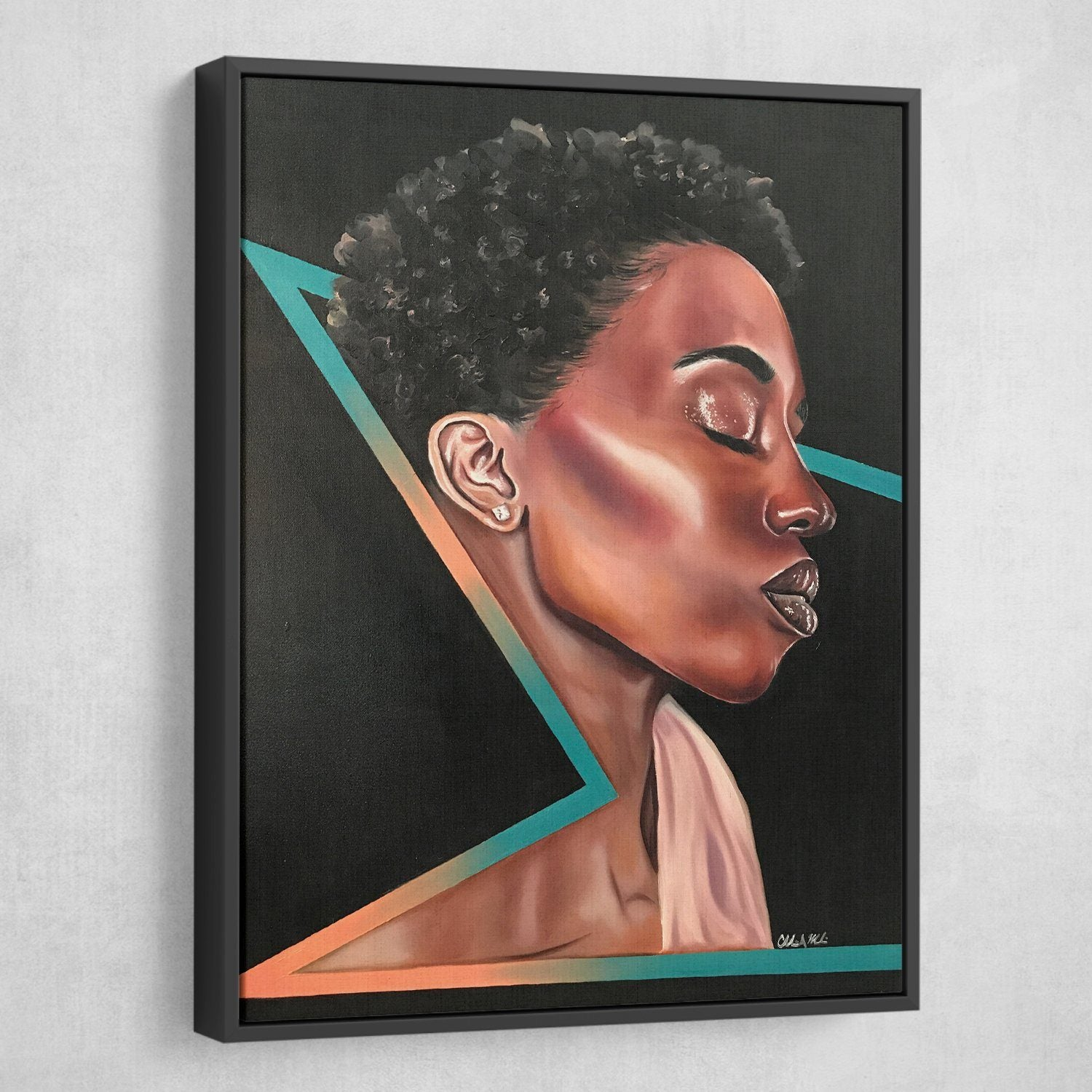 black woman art