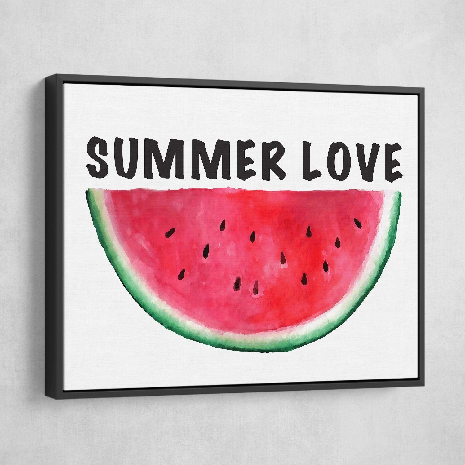 watermelon canvas wall art