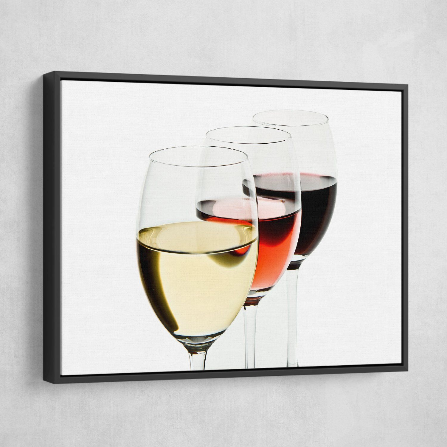 wine glass wall art